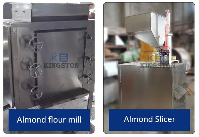 almond flour mill and almond slicer