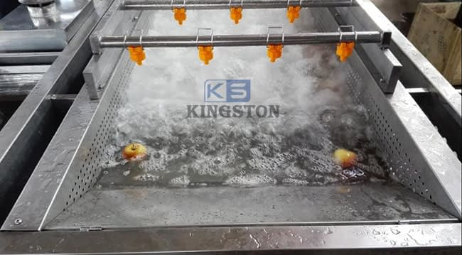 fruit and vegetable bubble washer