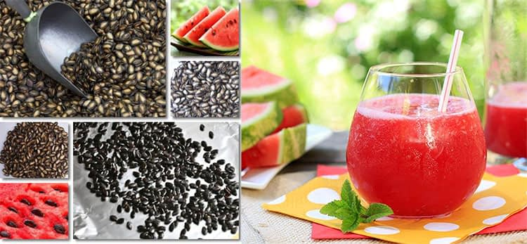 watermelon seeds extraction