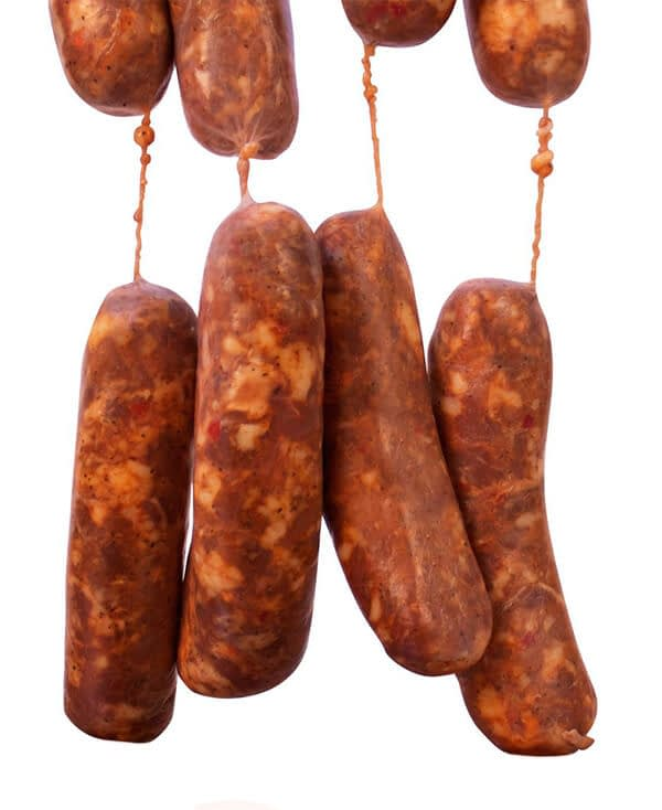 commercial sausage making process