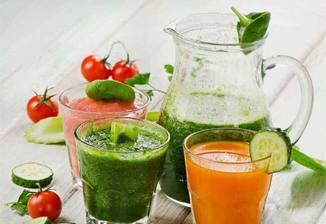 drink vegetable juice