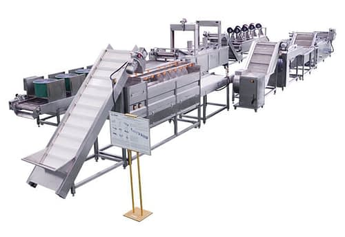 Automatic Frozen French Fries Production Line
