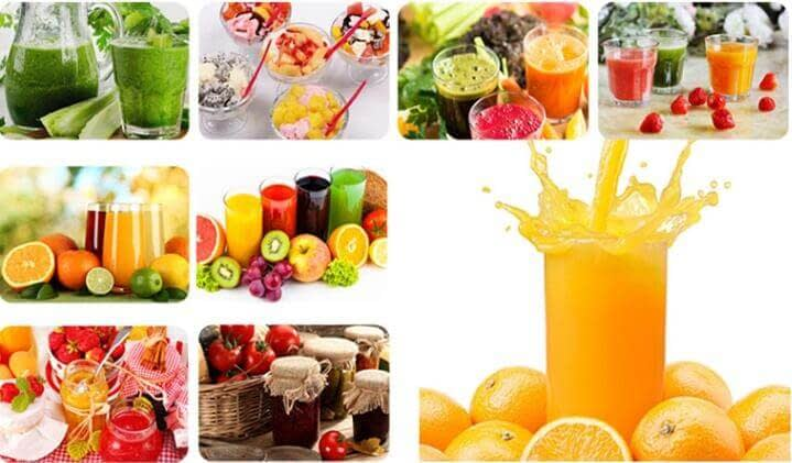 fruit juice & vegetable juice made by fruit vegetable juicer