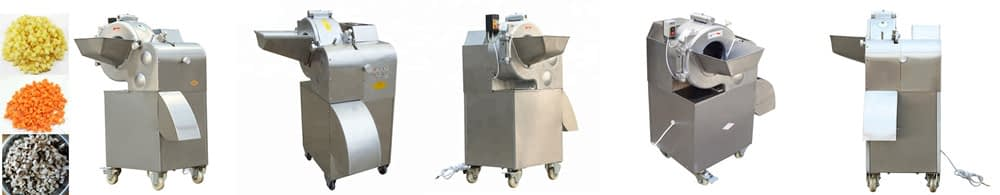 Vegetable Dicing Machine Description