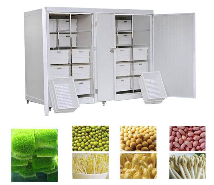 commercial sprouting equipment