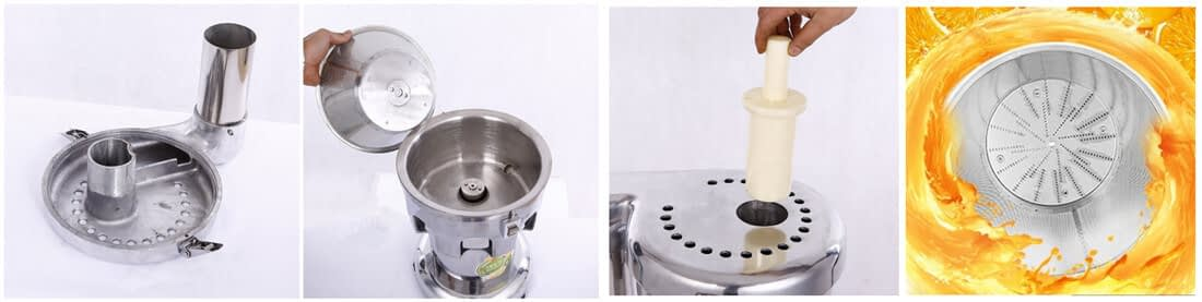 commercial cold press carrot juicer features